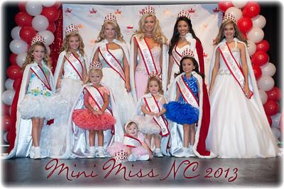 Mini Miss NC 2013
