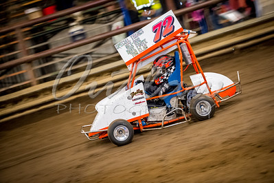 Outlaw Karts - Jan 11-12, 2014 - River Arena Speedway