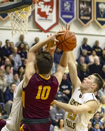 HS Basketball: Avon Lake @Olmsted Falls 02162018