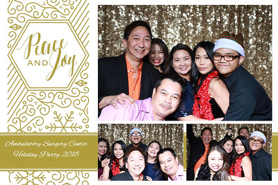 Ambulatory Surgical Center Holiday Party 2018