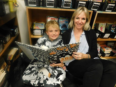 Cozy Reading Night Warms LCE Families
