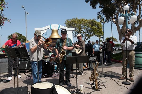 Music and Dancing at Marina Del Rey Fisherman's Village