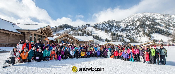 FEB 2018   70+ ski group  snowbasin