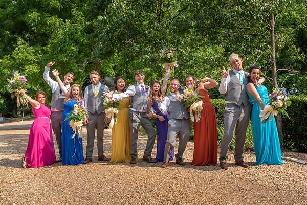 Casey and Dustin - North GA Wedding