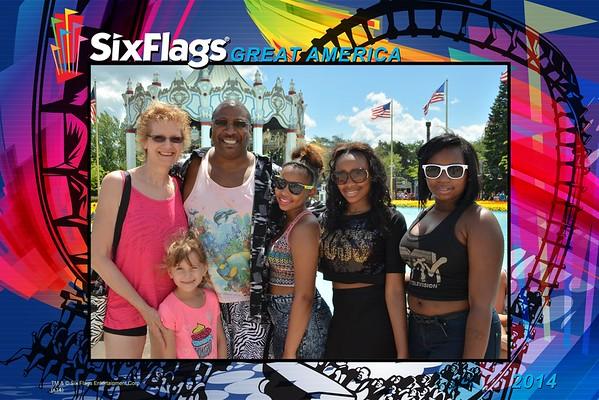 2015 Six Flags Great America