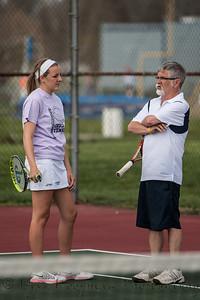 2013 PHS Girls Tennis vs North Harrison