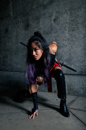 2016-10-30 - Psylocke Cosplay by Minna