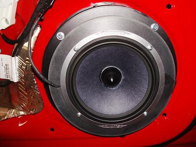2010 Audi A4 Premium Front Door Speaker Installation - USA