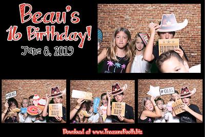 Beau's Sweet 16