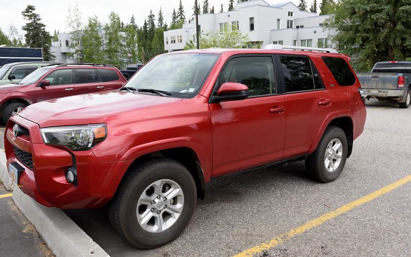 Our Toyota 4 Runner Rental