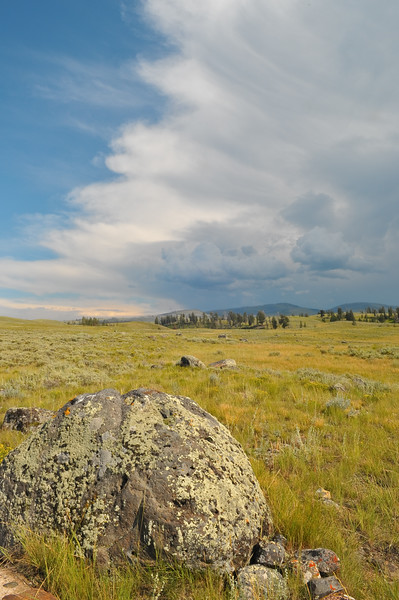 Approaching storm, Yellowstone National Park