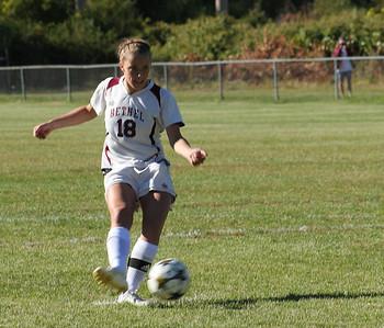 Varsity Girls Soccer vs New Fairfield - 09/23/2013