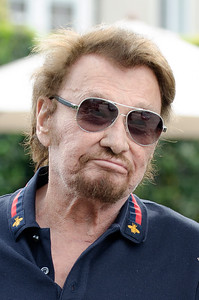 Johnny Hallyday and Laeticia celebrate their birthday wedding