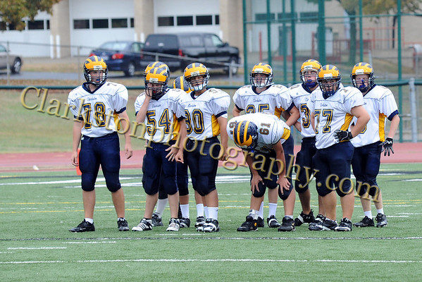 Clarkston Freshman Football vs. West Bloomfield