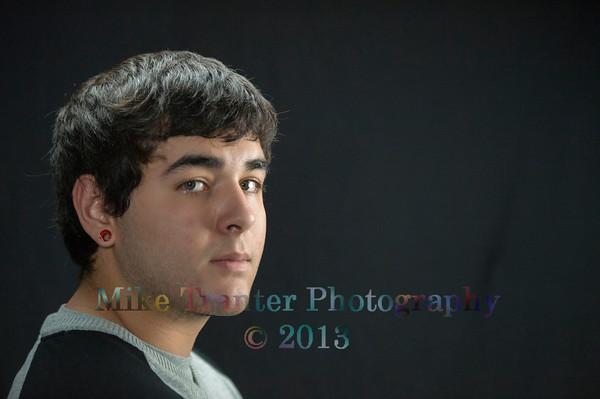 Oscar's Senior Portrait THS 2014