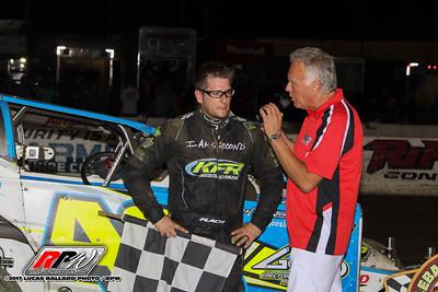 Lebanon Valley Speedway - 7/22/17 - Lucas Ballard