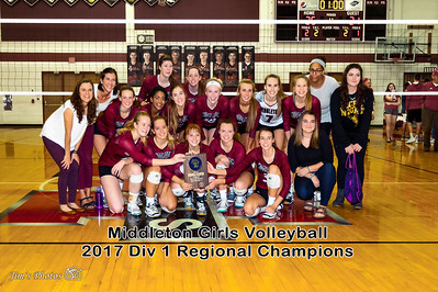 HS Sports - Middleton Girls Volleyball [d] Oct 21, 2017