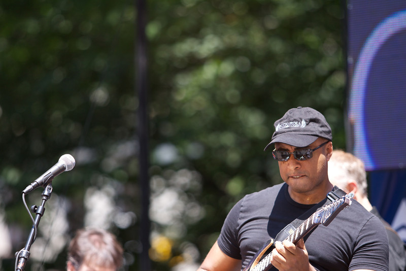 Bernie Williams @ Madison Square Park