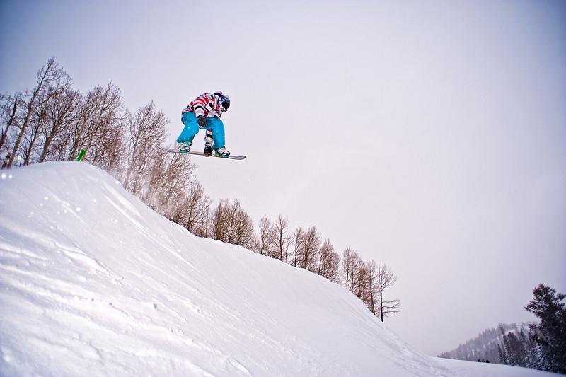 Snowboard Jump 3