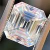 3.10ct Vintage Emerald Cut Diamond, GIA H VS1 0
