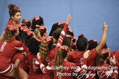 11-12-2016 Montgomery Blair HS at MCPS Cheerleading Championship Division 2 at Montgomery Blair HS, Photos by Jeffrey Vogt Photography