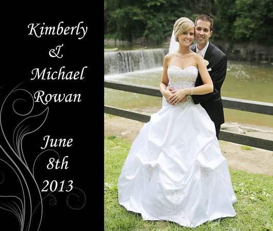 Kimberly & Michael 13x11 Wedding Album