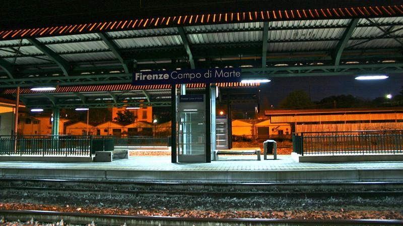Florence suburban train station