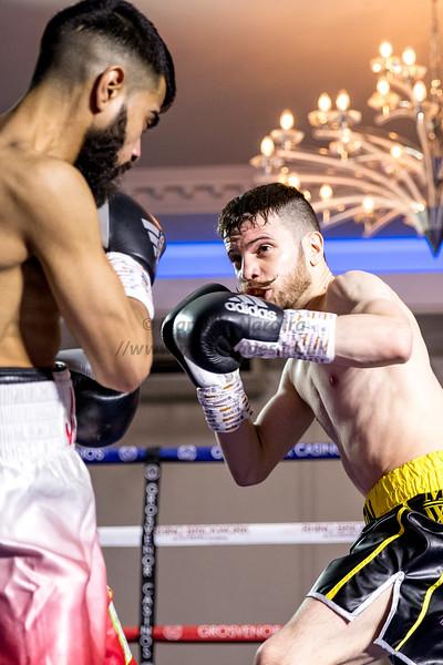 Ijaz Ahmed vs Matt Windle - Midlands Area Flyweight Title