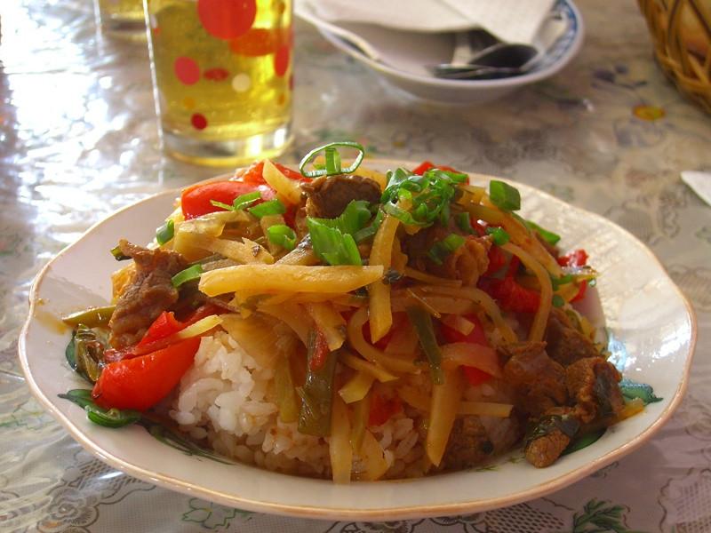 Ganfan, Kyrgyz Dish  - Karakol, Kyrgyzstan