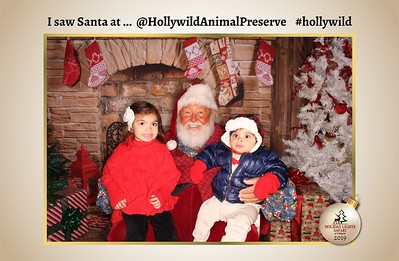 Hollywild Santa Photos - 120519