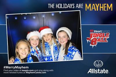 12.12.2016 - Allstate - Washington D.C. iHeartRadio Jingle Ball