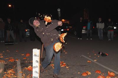 Men of the City Pumpkin Smashing 10-27-2010