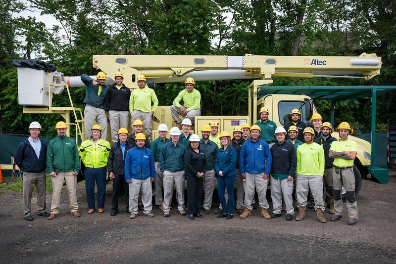 Springfield VA, Bartlett Tree Experts Crew photos