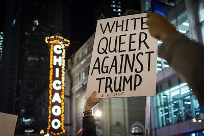11.9.16 - Chicago Trump Election Protest