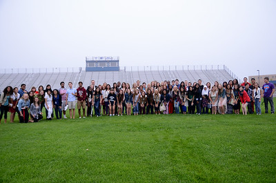 Breakfast with the Senior's on the football Field 2014