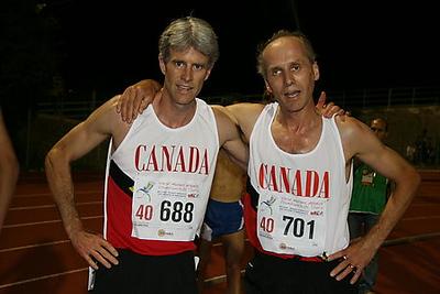 2007 WMA Champ's 800m final - Milke & Paul.jpg