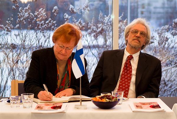 2008-01-31 Mrs President, Tarja Halonen