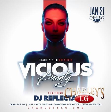 2017-01-22 Vicious Beauty with DJ Reflecta