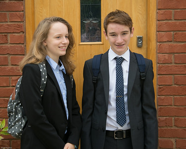 First day in Sixth form