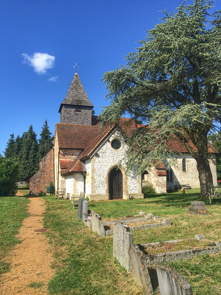 St Mary The Virgin Church, Silchester, Hampshire.