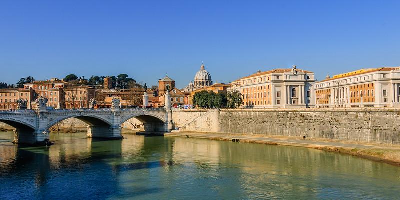 Vatican Dome, Rome, Italy