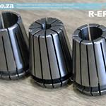 SKU: R-ER25, ER25 Collet Essential Set, Includes Collet Nut, 6mm/12mm/16mm Holders and 3mm/4mm Adapter