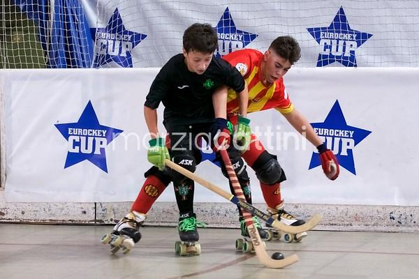 U15 Eurockey Cup 2017 day 2 - SC Tomar vs CP Manlleu