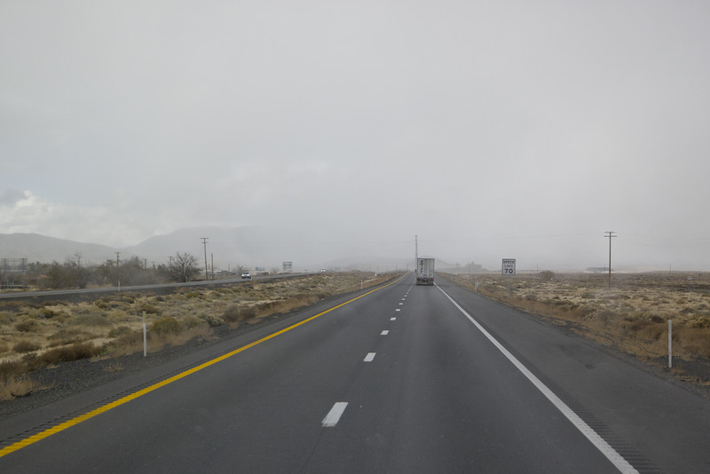 Fernley, NV Snow Shower