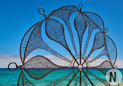 Inspired by Rosie, Sculpture by the Sea, Cottesloe 2018