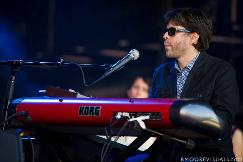 "Iron & Wine performs on November 12, 2011 during ""Orlando Calling 2011"" at The Citrus Bowl in Orlando, Florida"