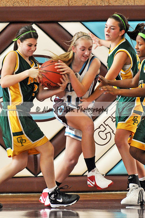 Girls JV Basketball - Grosse Pte North at Okemos - Dec 6