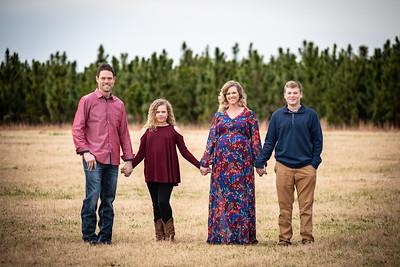 Brad Meeks Family 2018