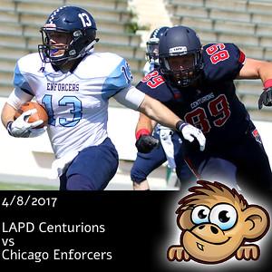 2017-04-08 LAPD vs Chicago Enforcers