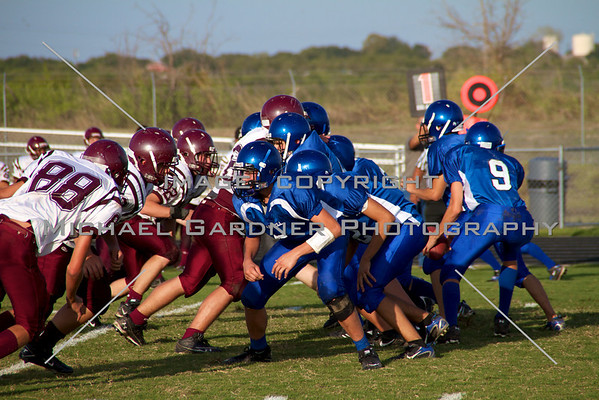 Jarrell VS. Johnson City JV 9-9-10